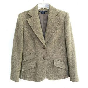 Jackets & Blazers - Ralph Lauren | Blue Label Herringbone Tan Jacket